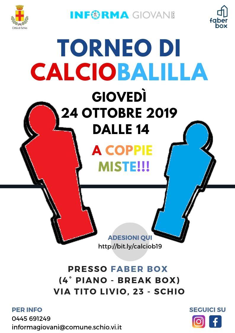 1° Torneo di Calciobalilla