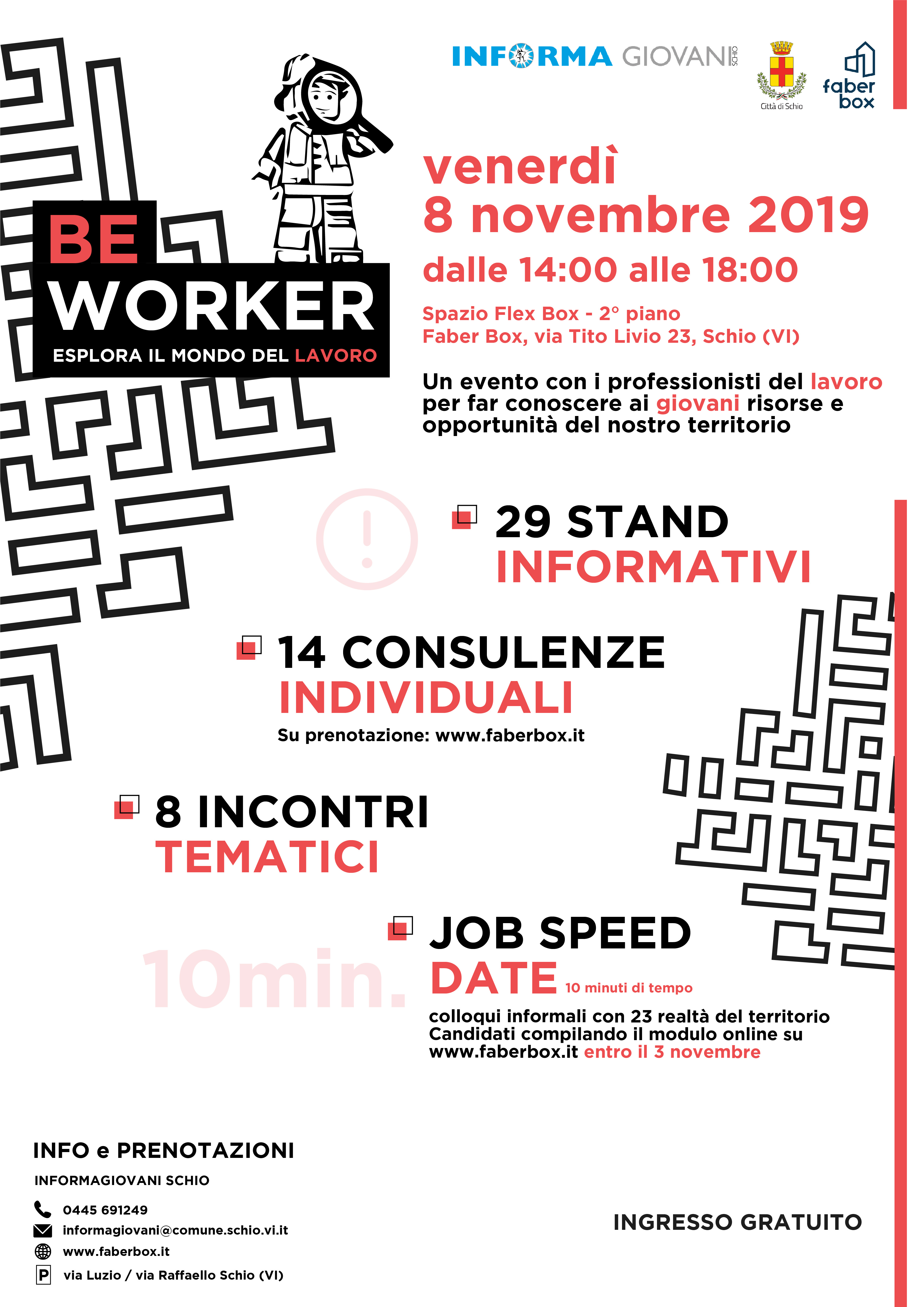 Be Worker – esplora il mondo del lavoro