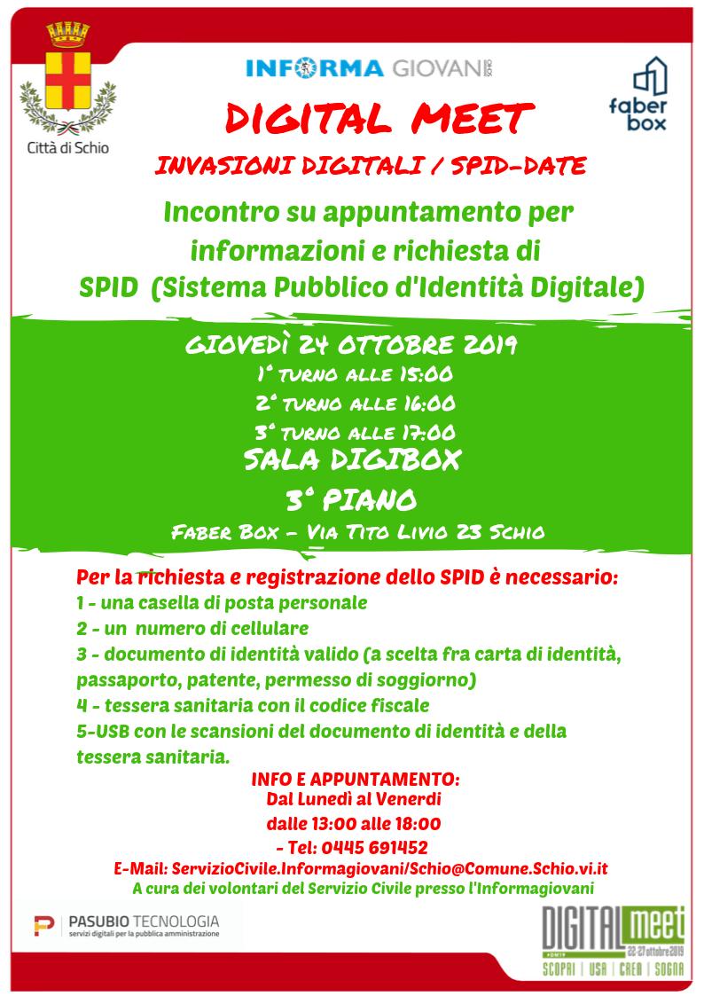 Digital Meet: SPID-date