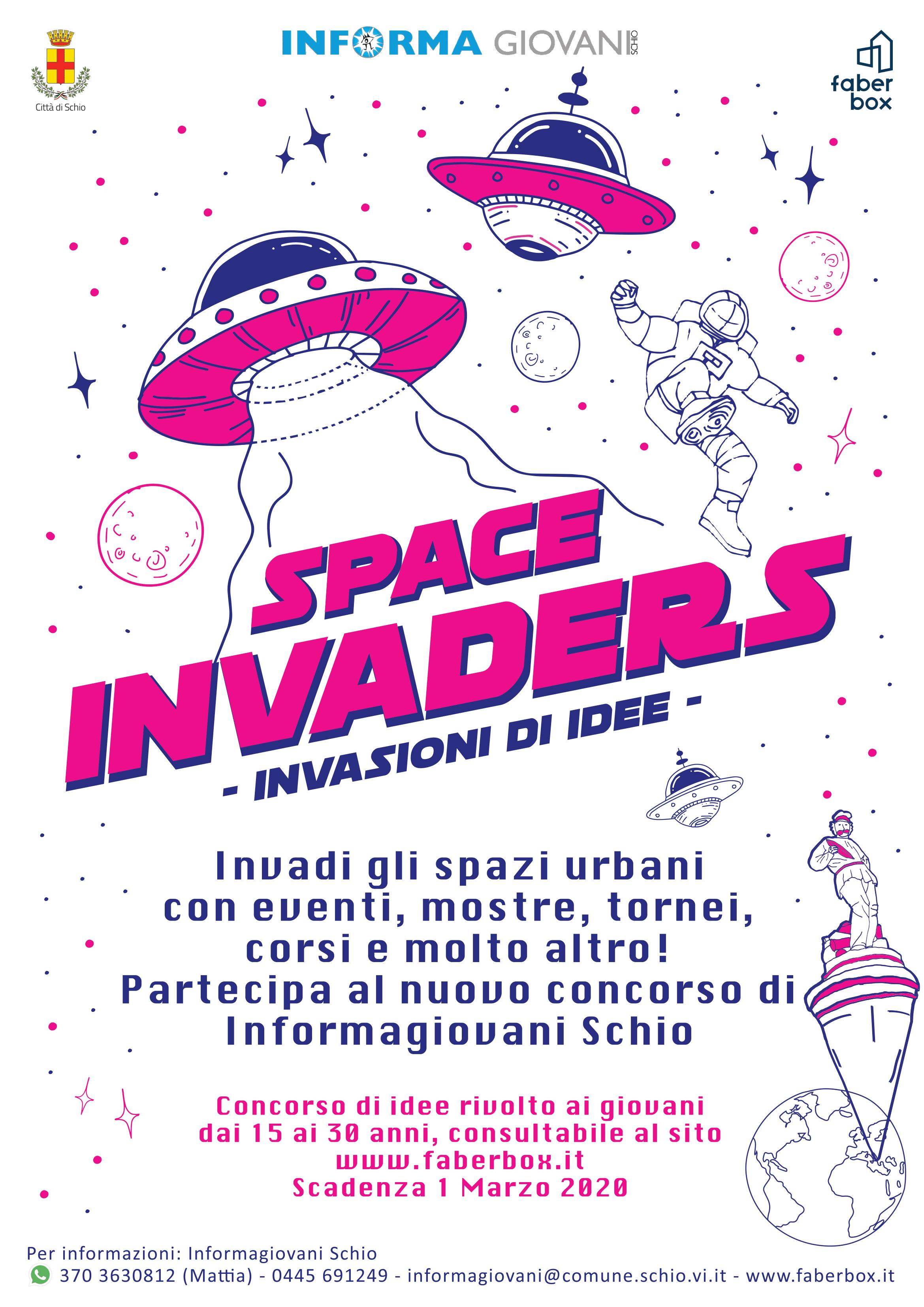 SPACE INVADERS 2020 – invasioni di idee