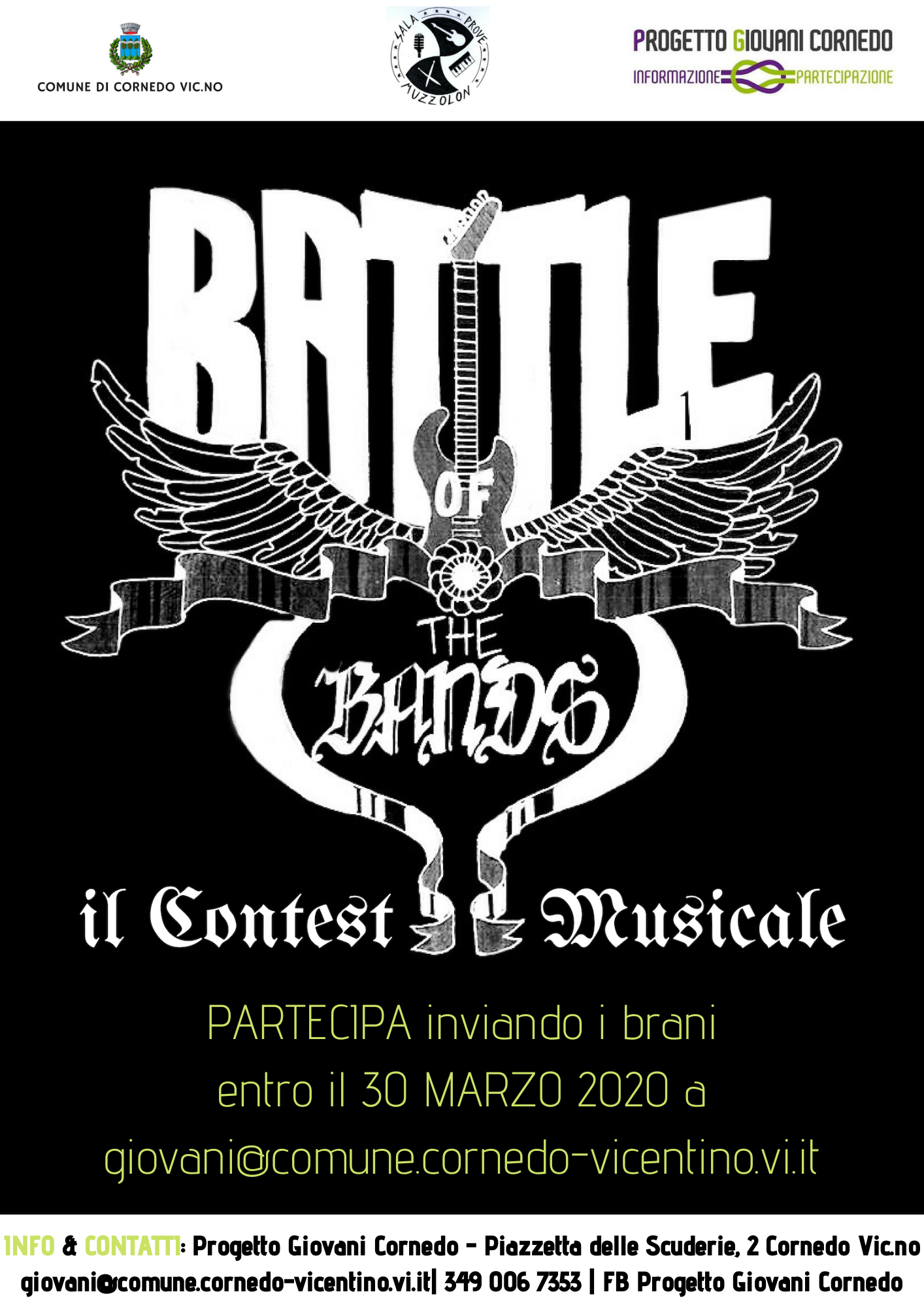 ♪ Battle of The Bands ♪ | Il contest musicale di Muzzolon