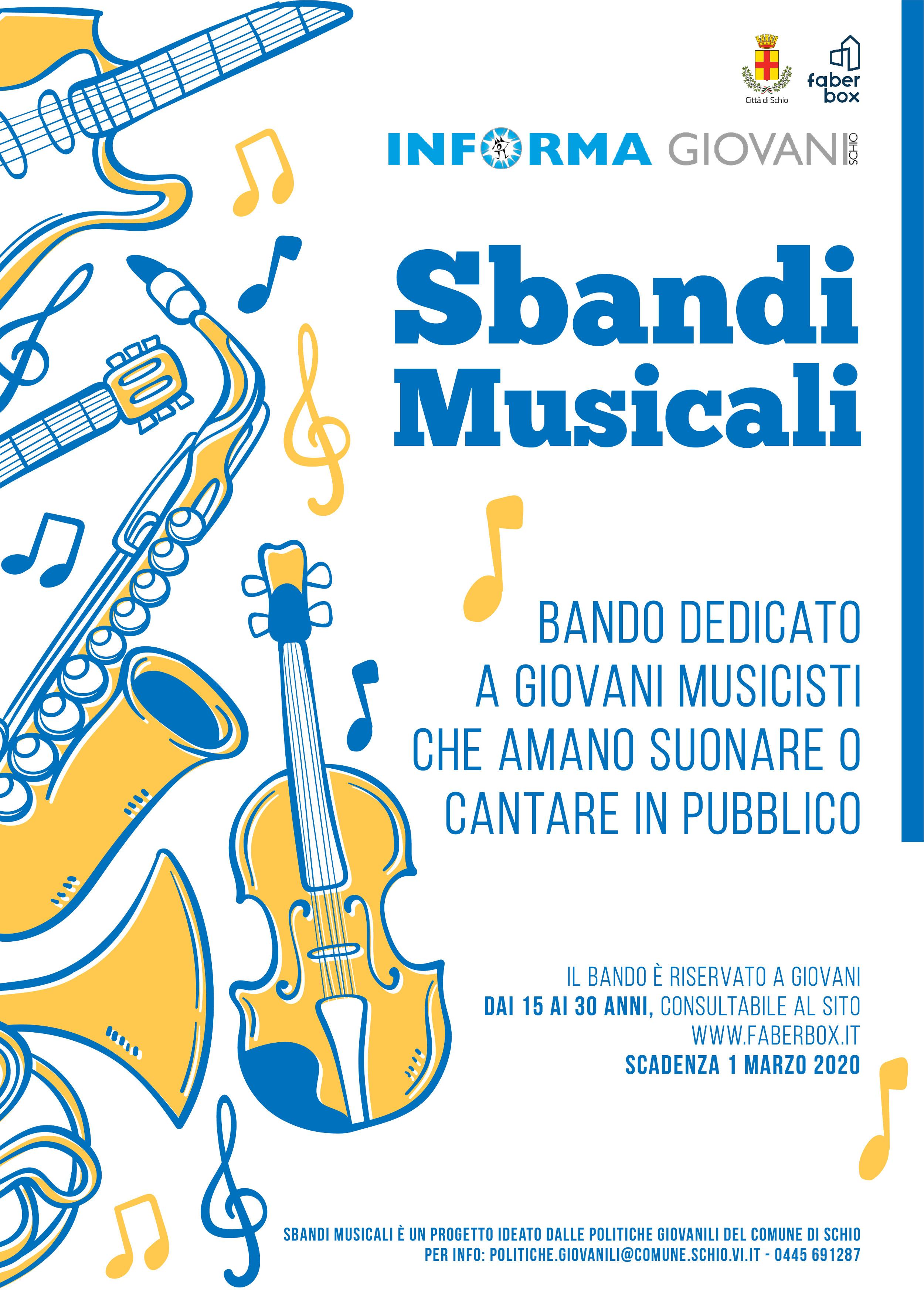 SBANDI MUSICALI 2020