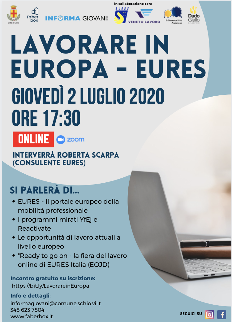 LAVORARE IN EUROPA – EURES