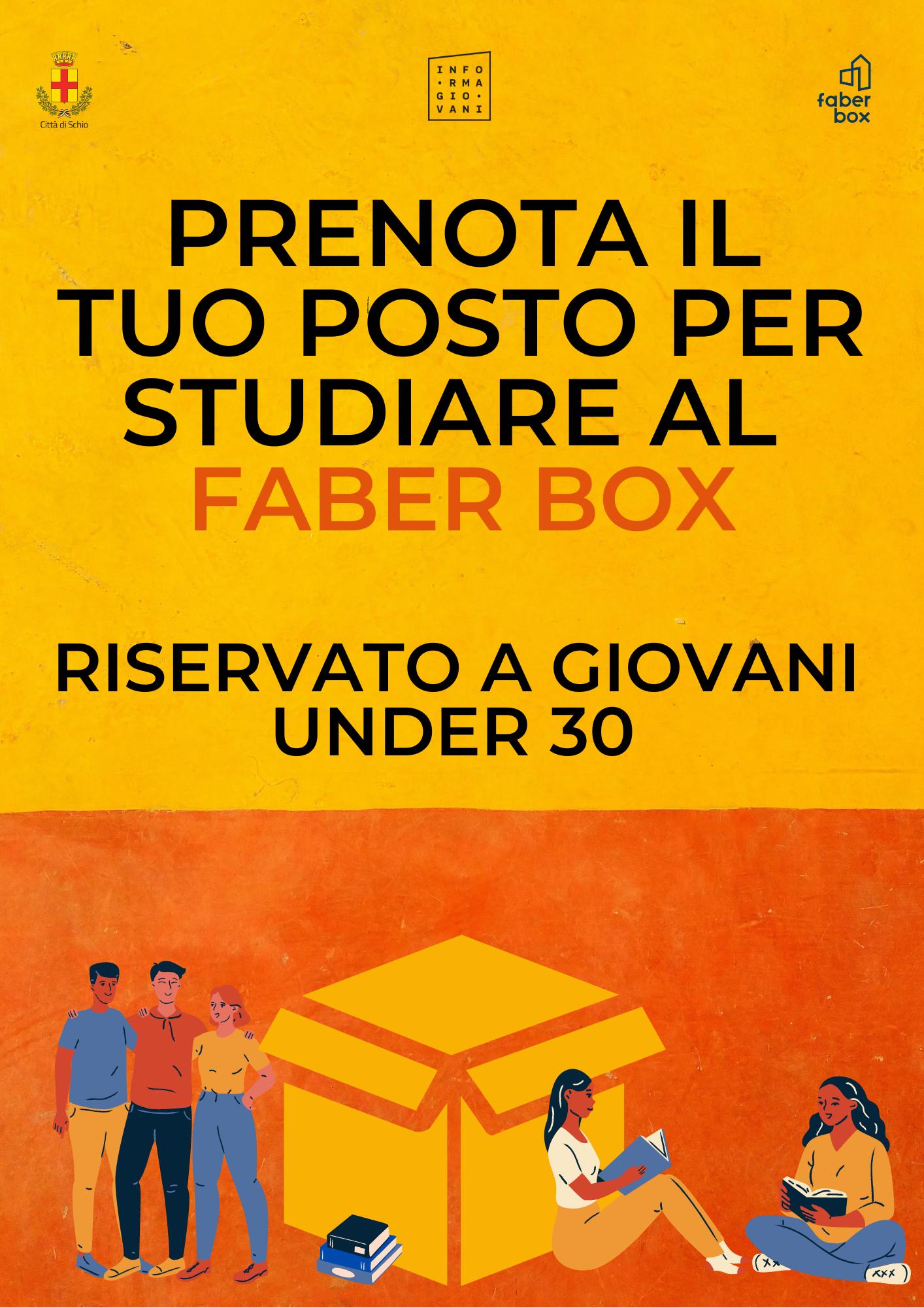 RIAPRE LO STUDIO BOX: SPAZIO DEDICATO ALLO STUDIO DEGLI UNDER 30