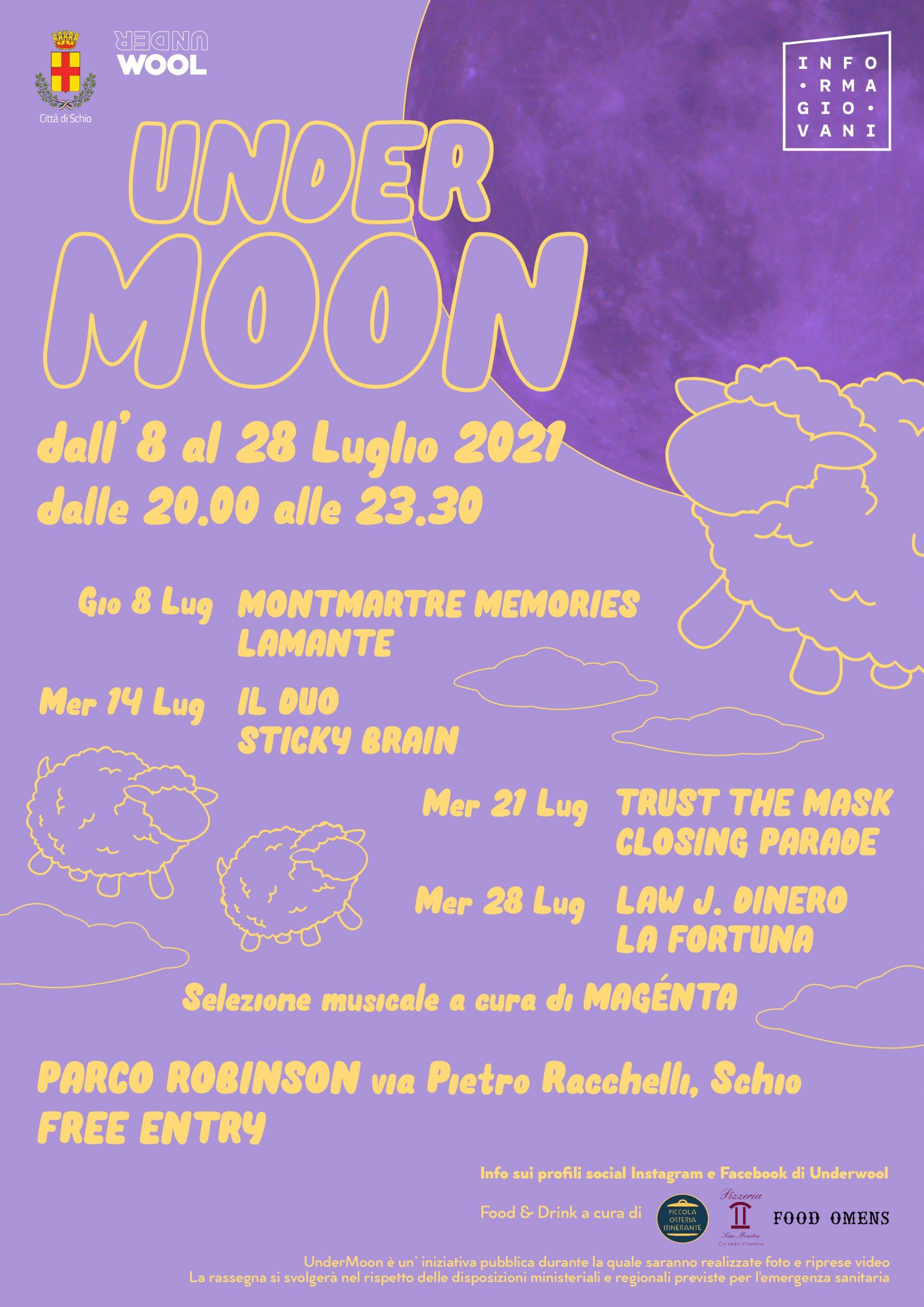 Undermoon 2021 | Musica al Parco Robinson