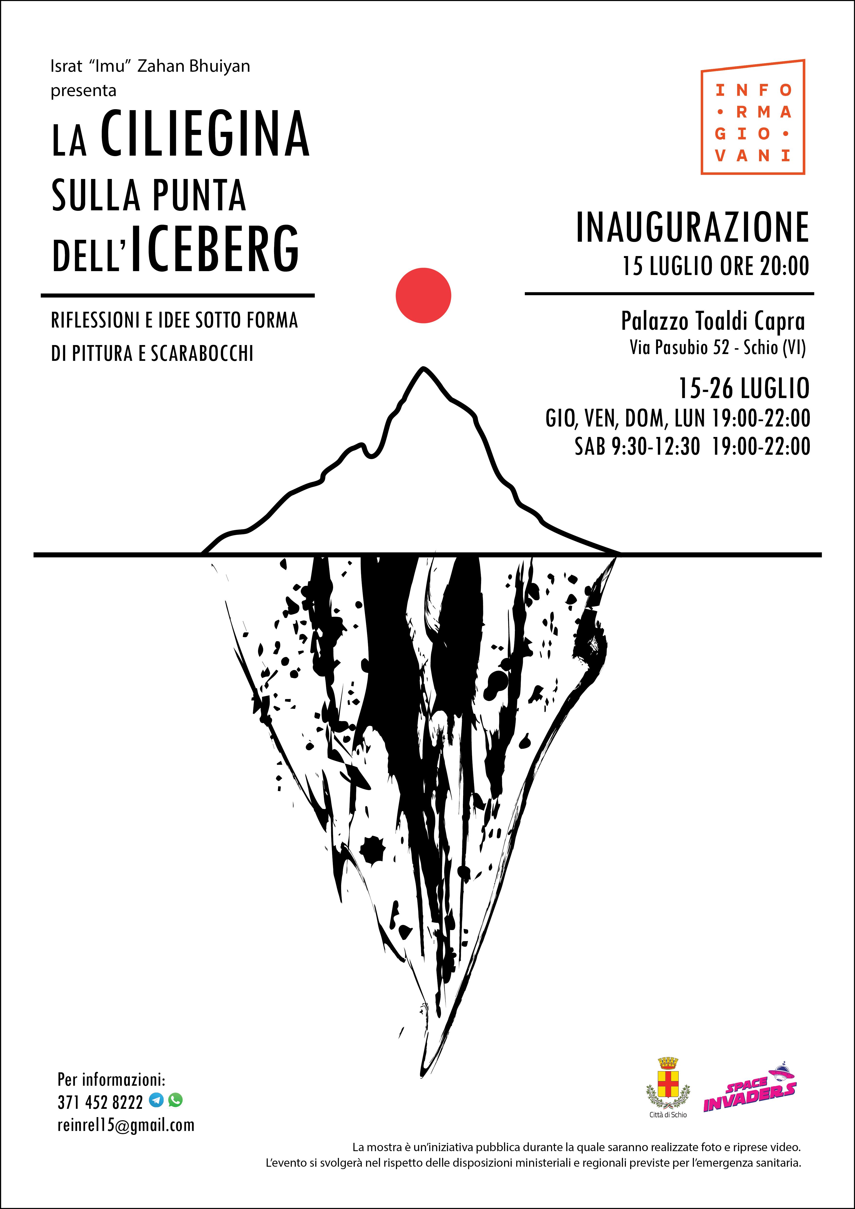 La ciliegina sulla punta dell'iceberg 🍒 – mostra al Palazzo Toaldi Capra