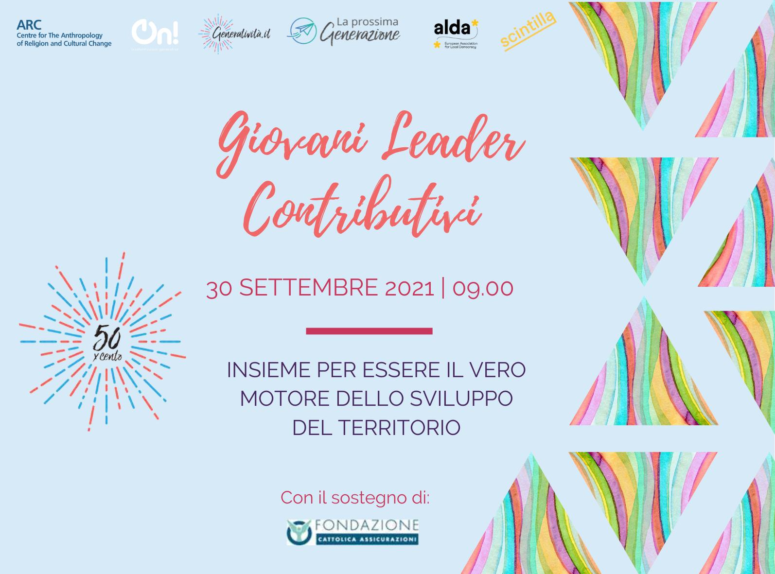 50xcento | Giovani Leader Contributivi cercasi!