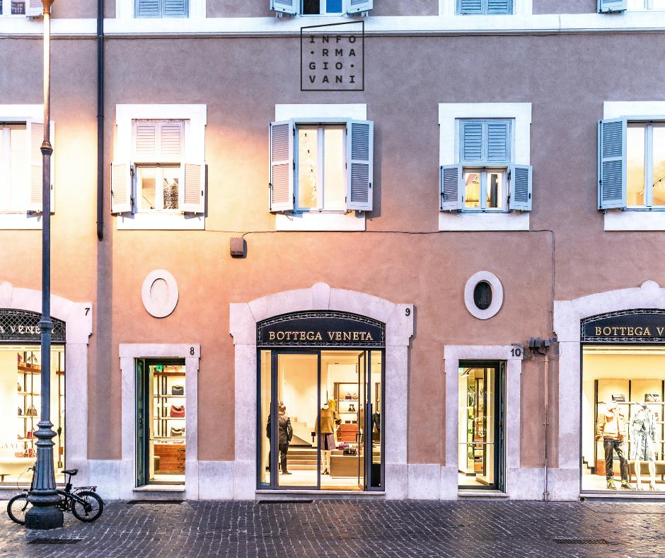 Nuove opportunità in Bottega Veneta in Italia e all'estero