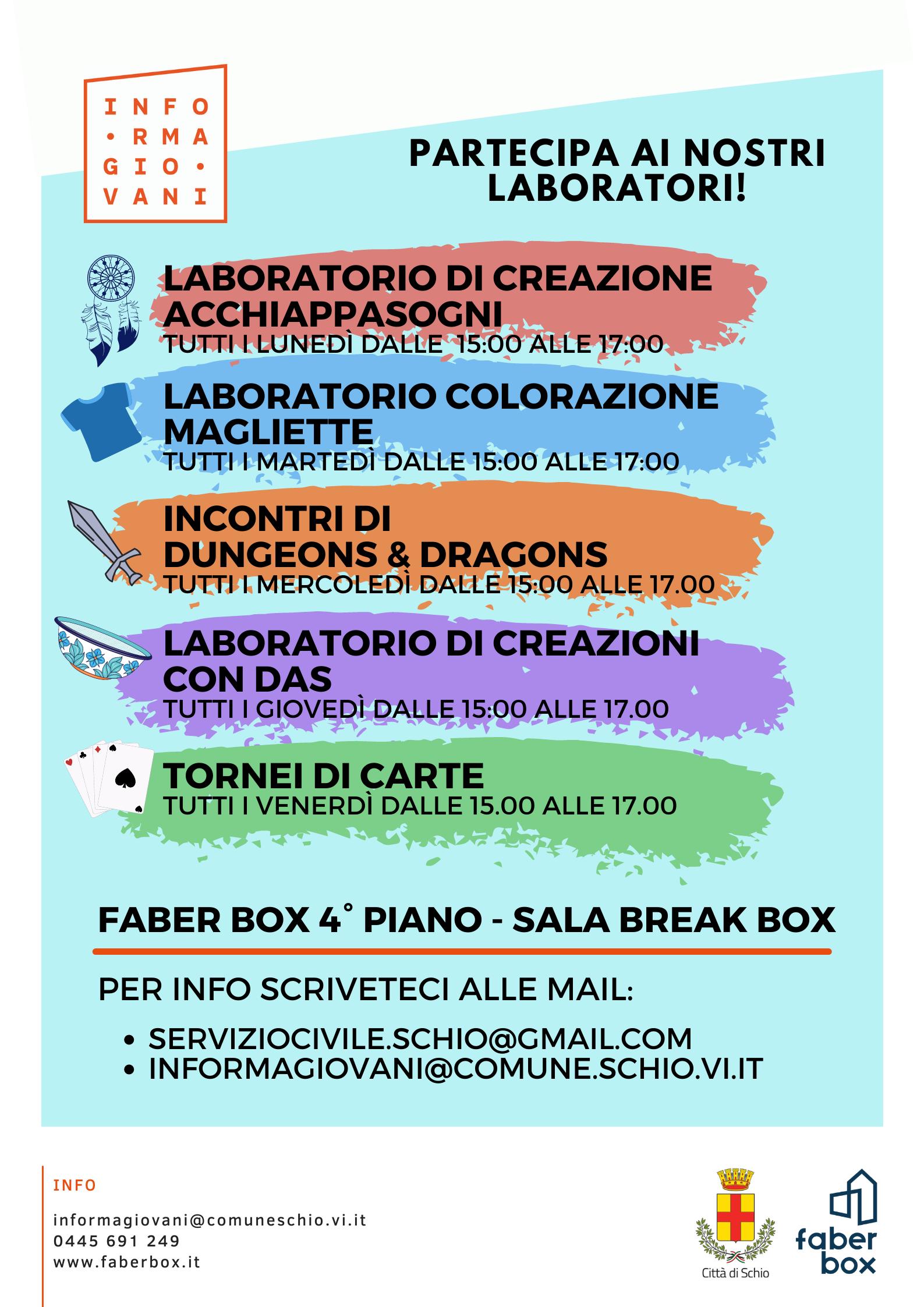 Laboratori in Break Box